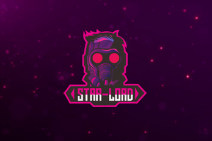 Star Lord Logo Wallpaper