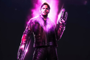 Star Lord Power Stone 4k Wallpaper