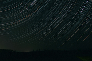 Star Trails 5k Wallpaper