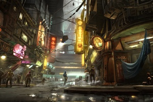 Star Wars 1313 Concept Art 4k