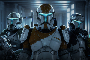 Star Wars Art 4k Wallpaper