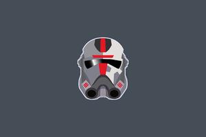 Star Wars Bad Batch Minimal Wallpaper