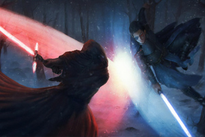 Star Wars Battle Wallpaper