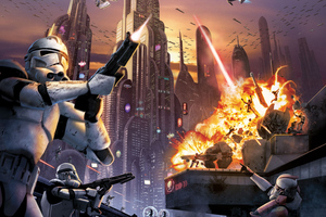 Star Wars Battlefront 2 4k