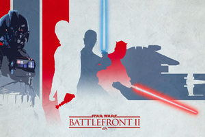 Star Wars Battlefront 2 Light Artwork