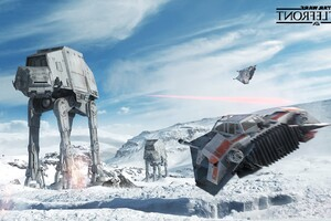 Star Wars Battlefront Art Wallpaper