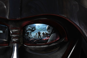 Star Wars Battlefront Darth Vader Wallpaper