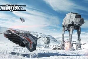 Star Wars Battlefront PS Game Wallpaper