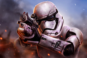 Star Wars Battlefront Stormtrooper Wallpaper