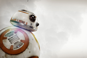 Star Wars BB8 Droid Toy Wallpaper