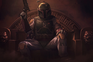Star Wars Boba Fett 4k Wallpaper