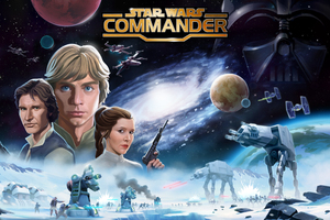 Star Wars Commander Strikes Back Wallpaper