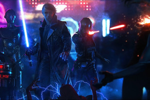 Star Wars Cyberpunk Wallpaper