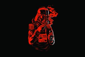 Star Wars Dark Red 8k