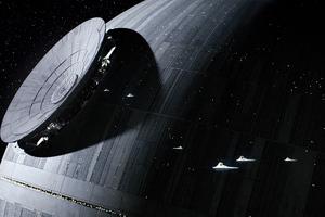 Star Wars Dark Space Wallpaper