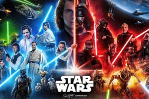 Star Wars Day 4k Wallpaper