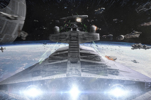 Star Wars Devastator Ship Wallpaper