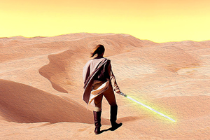 Star Wars Dune Sea Wallpaper