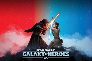 Star Wars Galaxy Of Heroes Wallpaper