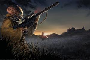 Star Wars Gand Sniper 10k Wallpaper