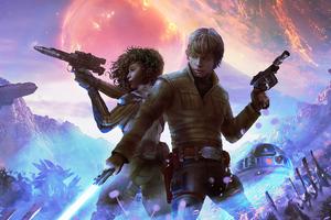 Star Wars Heir To Jedi Wallpaper