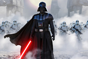 Star Wars Imperial March 4k Wallpaper