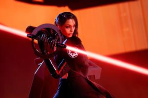 Star Wars Jedi Fallen Order Red 4k Wallpaper