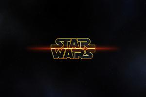 Star Wars Logo 4k