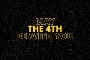 Star Wars May The 4th Be With You Wallpaper
