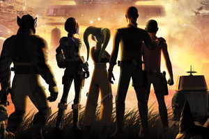 Star Wars Rebels Key Art Wallpaper