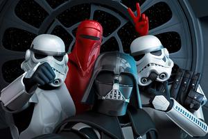 Star Wars Revenge Of The 5th Selfie 4k Wallpaper