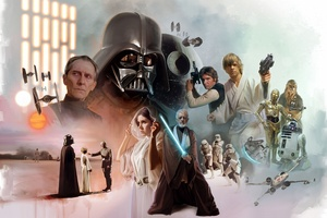 Star Wars Scifi Artwork