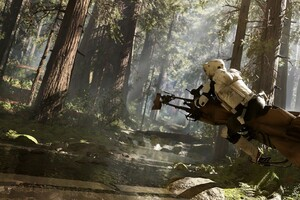Star Wars Scout Trooper Wallpaper
