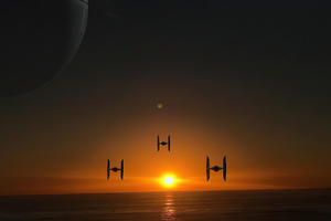 Star Wars Shuttles Wallpaper