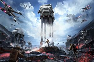 Star Wars Stormfront Wallpaper