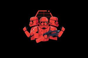 Star Wars Stormtrooper Minimal Art
