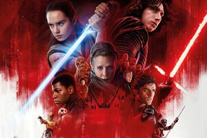 Star Wars The Last Jedi 10k