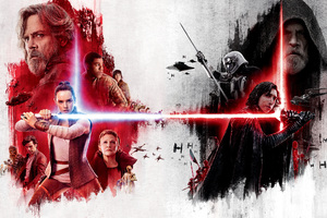 Star Wars The Last Jedi Poster