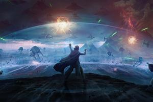 Star Wars The Last Stand 4k Wallpaper