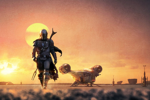 Star Wars The Mandalorian 2019 Wallpaper