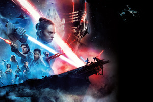 Star Wars The Rise Of Skywalker 12k Wallpaper