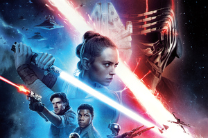 Star Wars The Rise Of Skywalker 8k Wallpaper