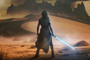 Star Wars The Rise Of Skywalker Arts Wallpaper