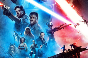 Star Wars The Rise Of Skywalker New Poster 4k Wallpaper