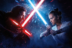 Star Wars The Rise Of Skywalker Poster 4k 2019