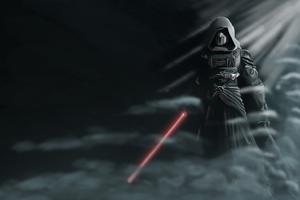 Star Wars With Lightsaber Wallpaper