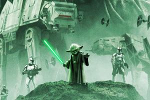 Star Wars Yoda Wallpaper