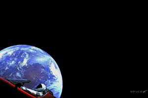 Starman Space X Wallpaper