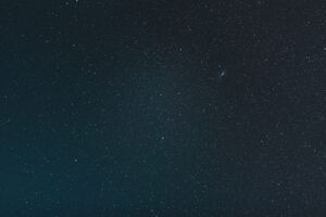 Starry Clear Sky Night 4k