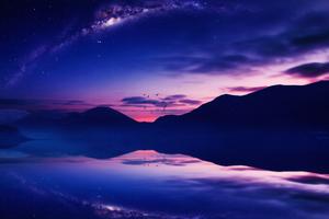 Starry Twilight 4k Wallpaper